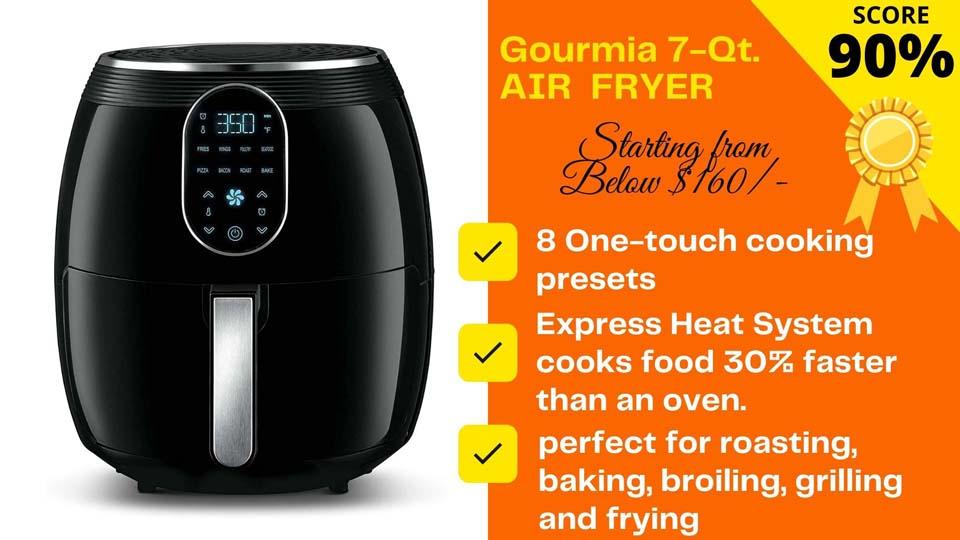 Gourmia GAF718 7-Quart Air Fryer