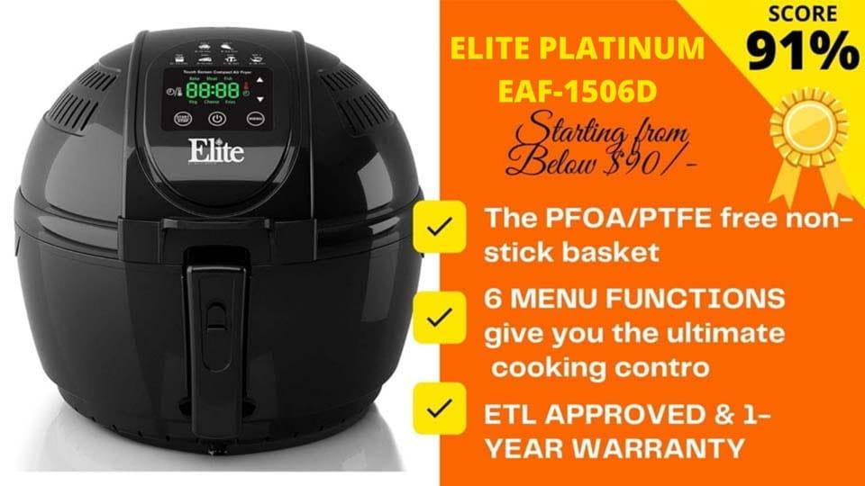 Elite air fryer