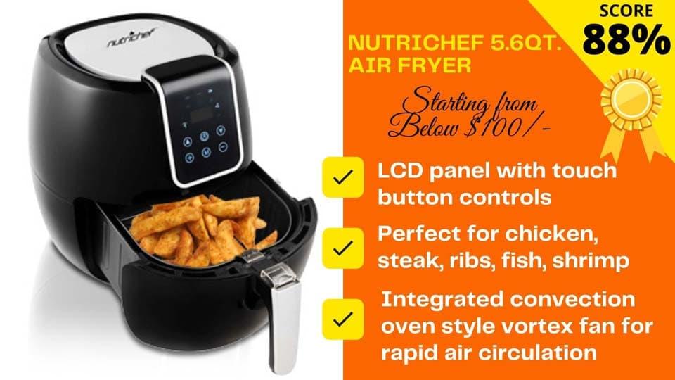 NutriChef air fryer